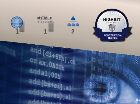 Penetration test, Web application plus Web server, credentialed, Pre-Certified (Bronze)
