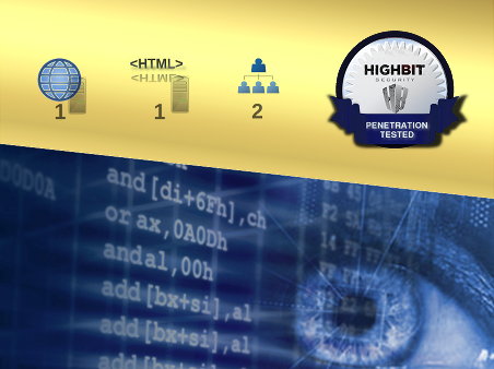 Penetration test, Web application plus Web server, credentialed, Certified-Only (Gold)